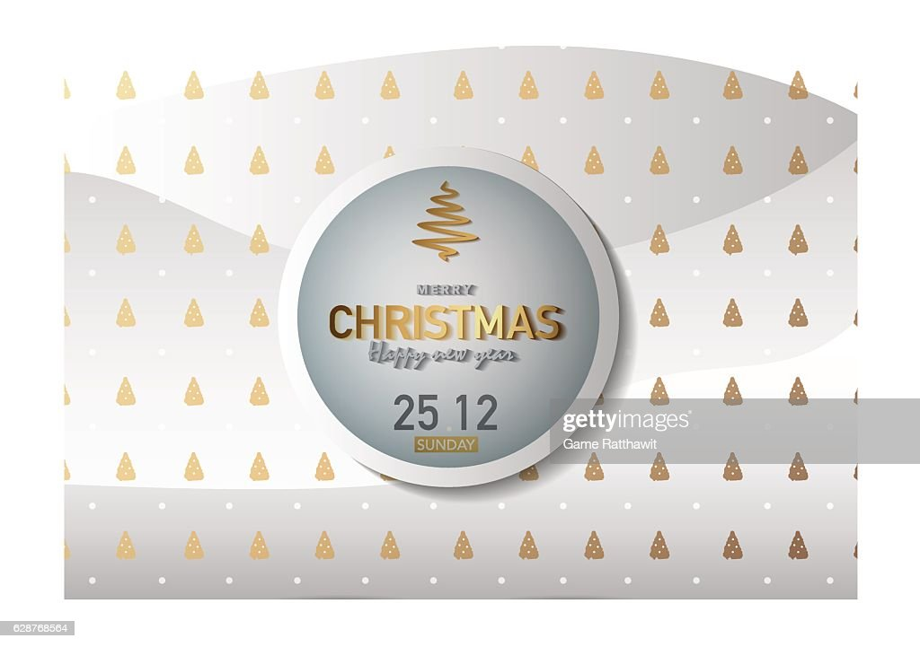 Merry Christmas Background Vector Illustration Ep04