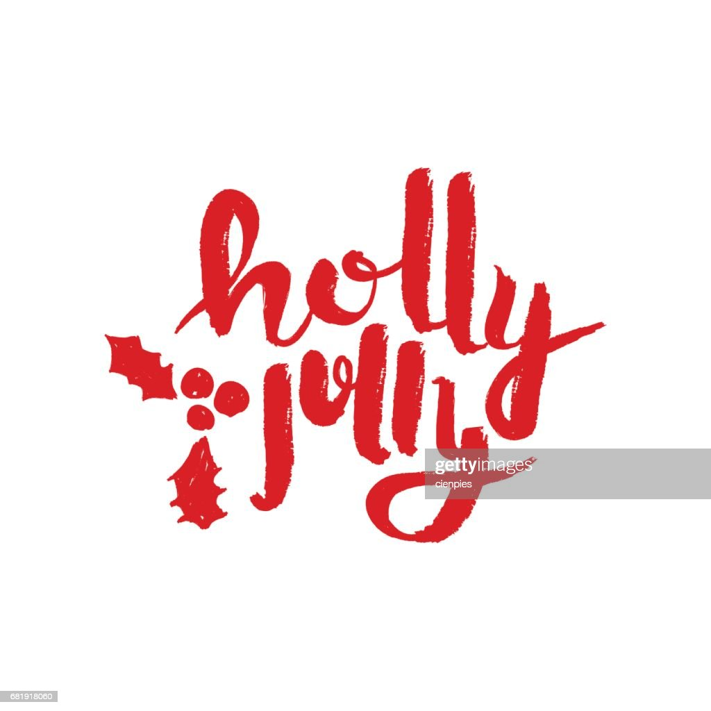 Merry christmas calligraphic quote design handwritten brush font merry christmas calligraphic quote design handwritten brush font lettering for holiday season greeting card m4hsunfo