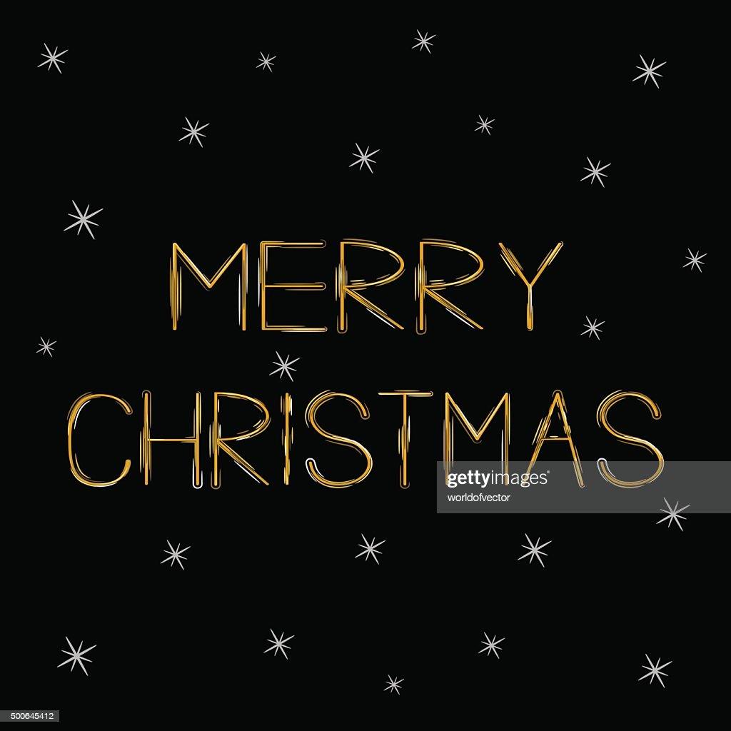 Schriftzug Frohe Weihnachten Beleuchtet.Frohe Weihnachten Gold Schriftzug Grusskarte Sprkles