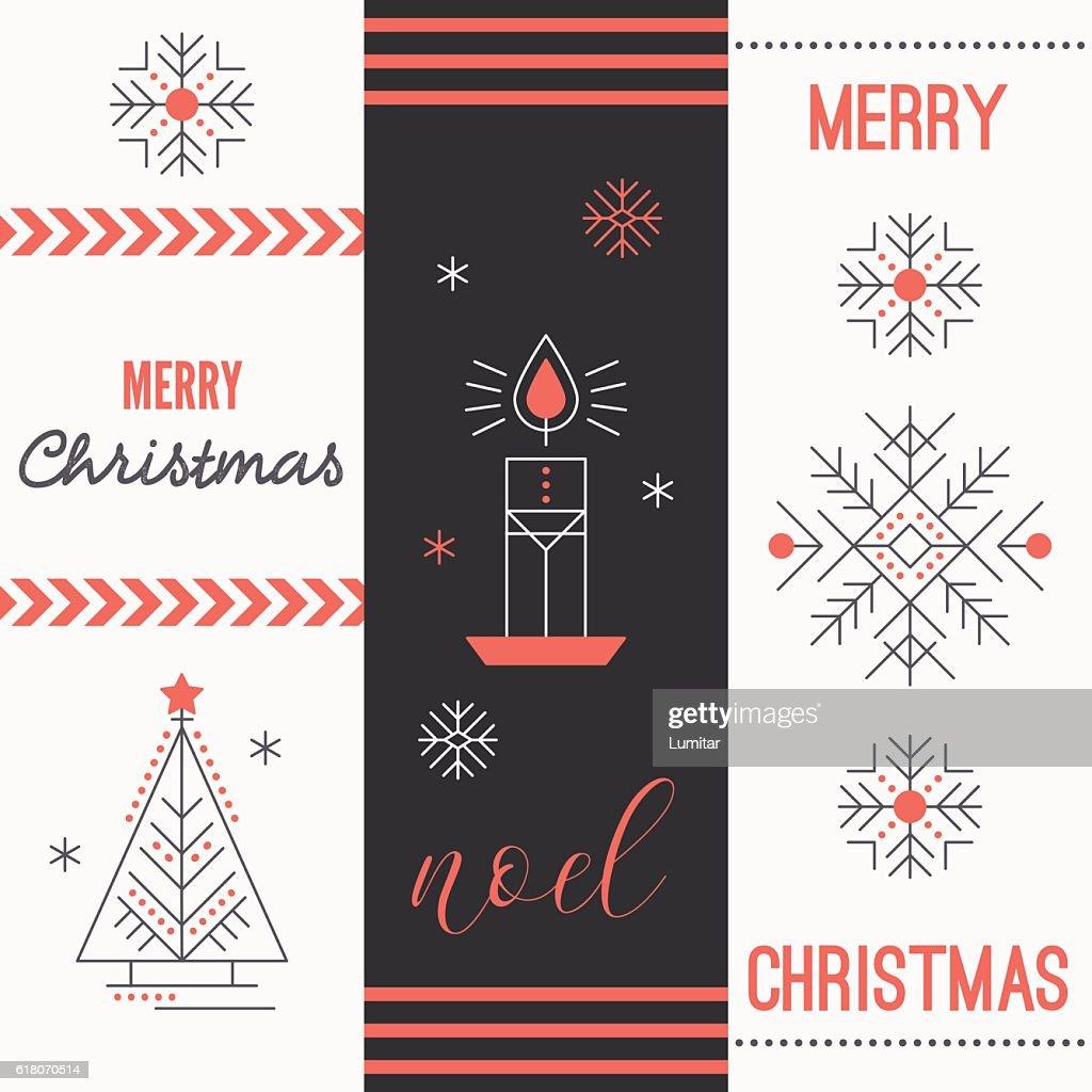 Merry christmas greeting card template vector art getty images merry christmas greeting card template vector art m4hsunfo