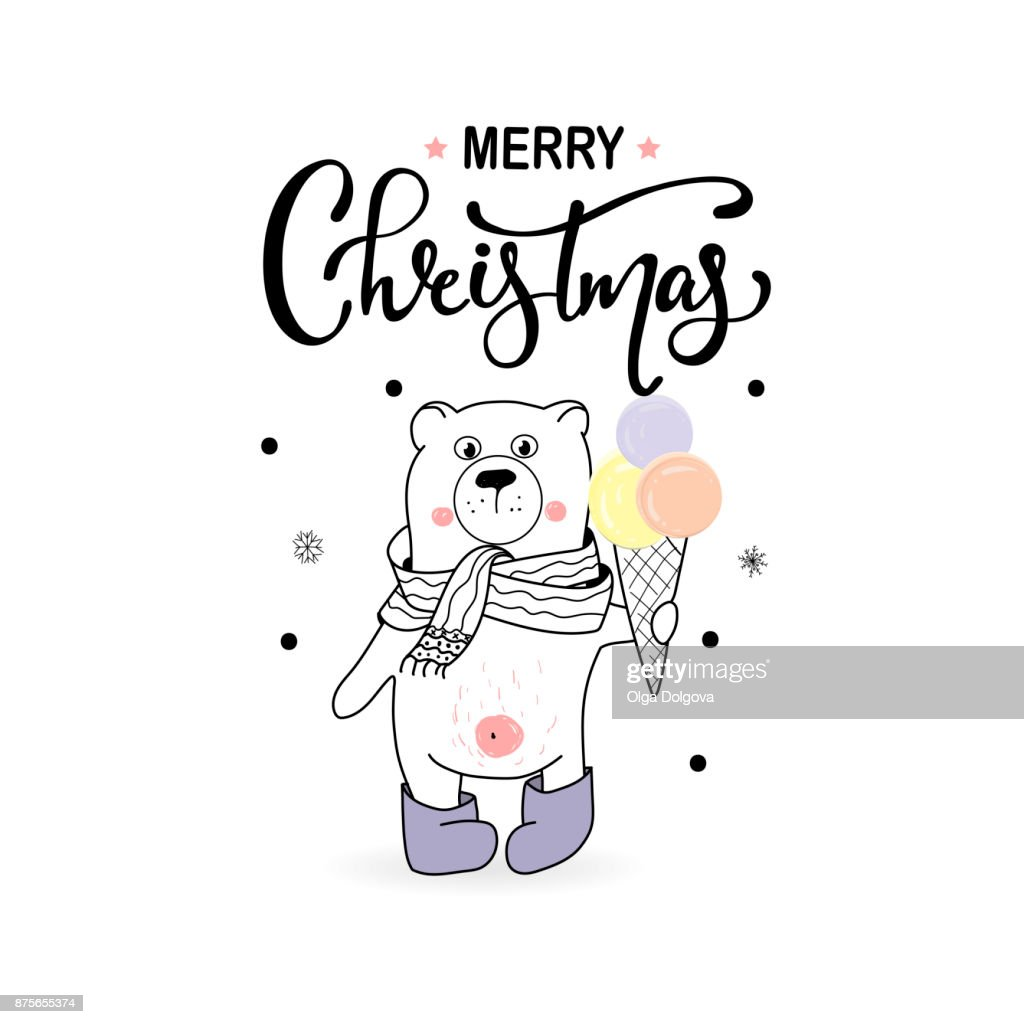 Merry christmas hand draw greeting cards vector art getty images merry christmas hand draw greeting cards m4hsunfo