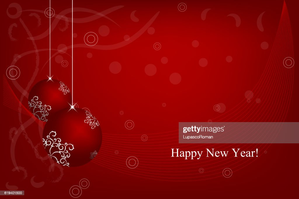 merry christmas happy new year invitation card banner design element vector art