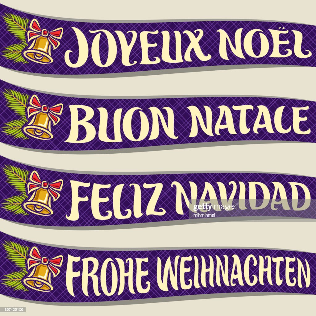 Merry Christmas in different language