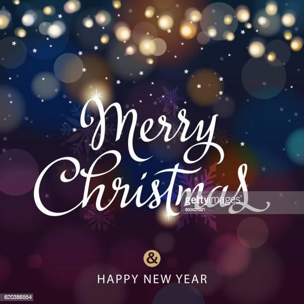 merry christmas lights - blink stock illustrations, clip art, cartoons, & icons