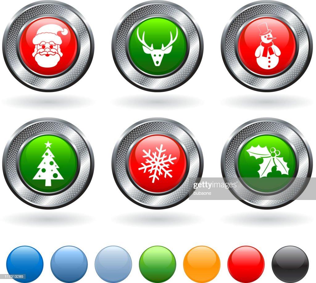 Weihnachten Lizenzfreie Bilder.Frohe Weihnachten Lizenzfreie Vektor Iconset Stock Illustration