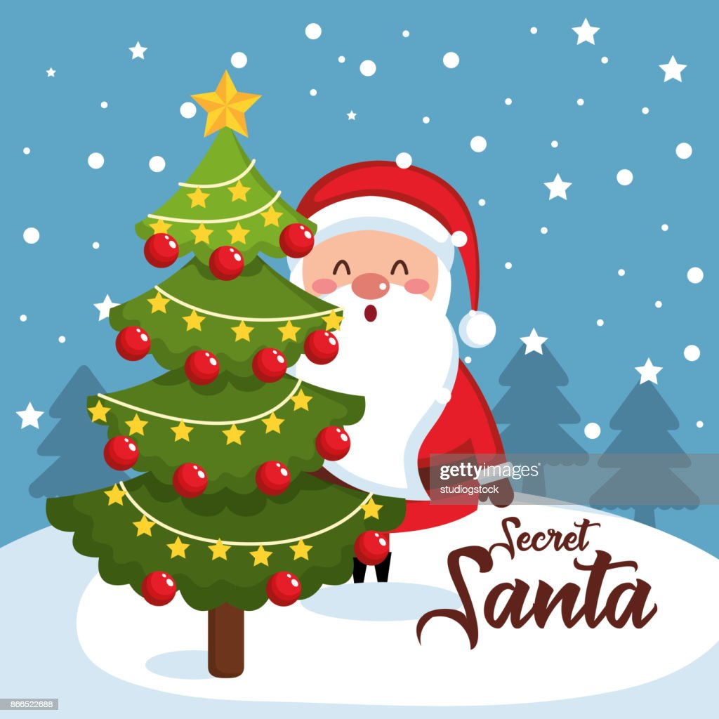 merry christmas santa character