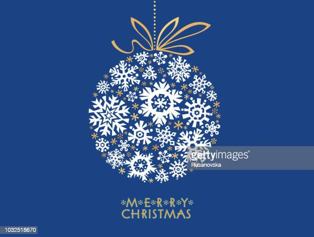 merry christmas! - christmas ornament stock illustrations