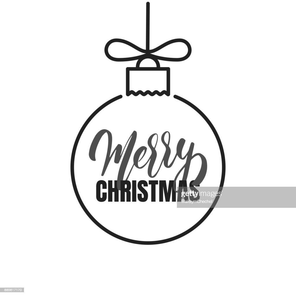 Frohe Weihnachten Winter Saison Skript Schriftzug Frohe Weihnachten ...