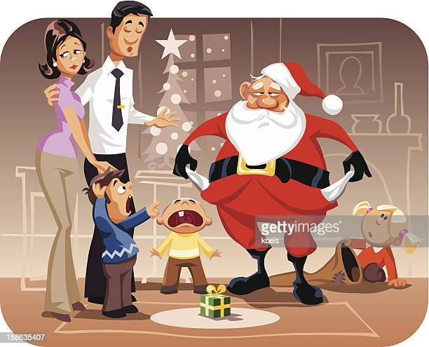 merry crisis - downsizing unemployment stock illustrations, clip art, cartoons, & icons