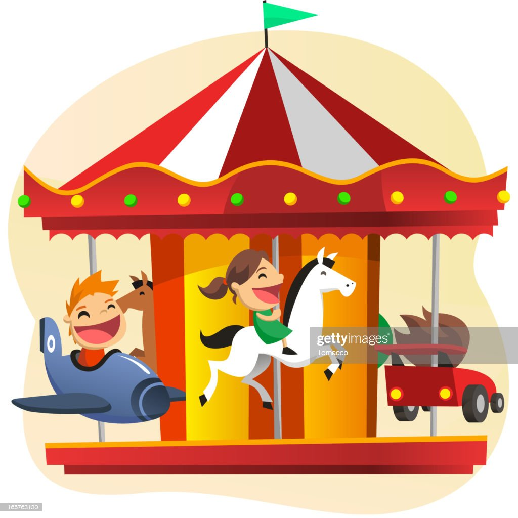 Merry-go-round Amusement Park Game