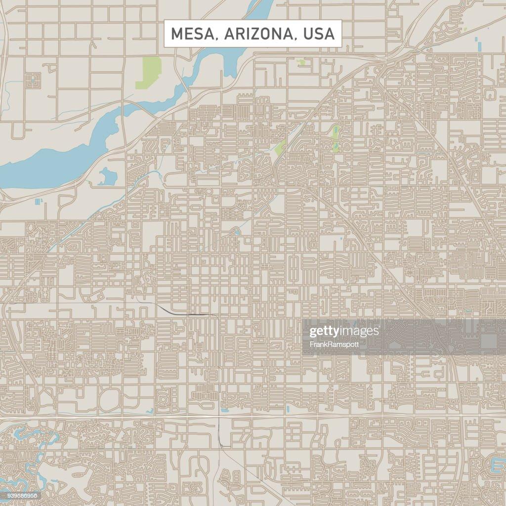 Mesa Arizona Us City Street Map stock vector - Getty Images on alaska usa, arizona surrounding states, arizona map mexico, arizona border map, arizona map red, arizona county map, arizona flag usa, arizona map yuma az, arizona teams, arizona map phoenix az, arizona map sedona az, arizona map coloring page, arizona map tempe az, arizona map with cities, arizona map with lakes, arizona map outline, arizona map clip art,