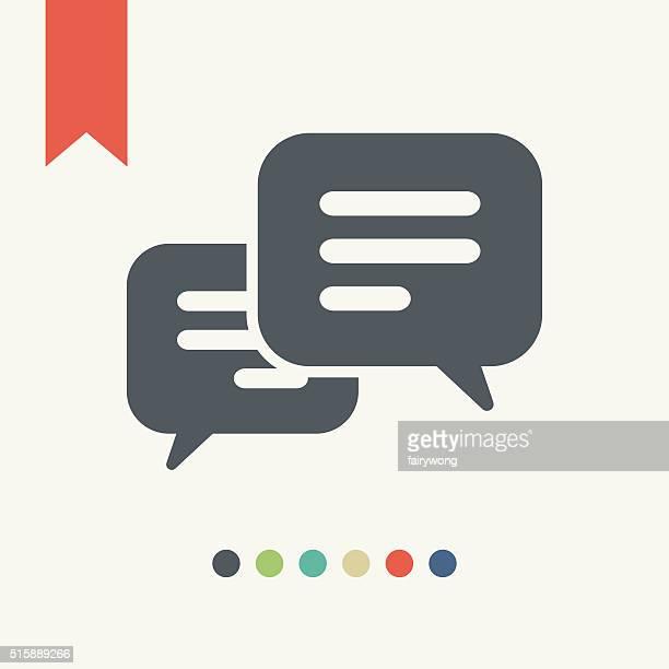 Message Bubbble icon