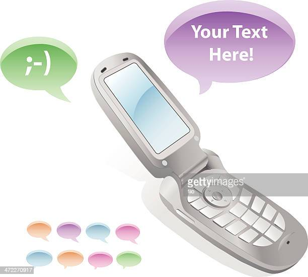 Message Bubble Cell Phone [vector]