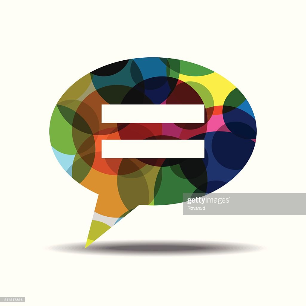 Message Colorful Vector Icon Design