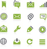Message Icons // Natura Series