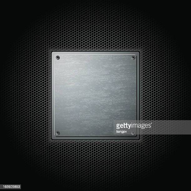 metal background - sheet metal stock illustrations, clip art, cartoons, & icons