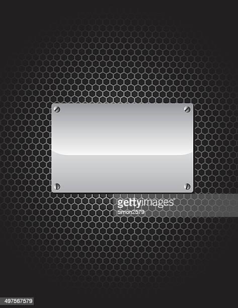 metal background - chrome stock illustrations, clip art, cartoons, & icons