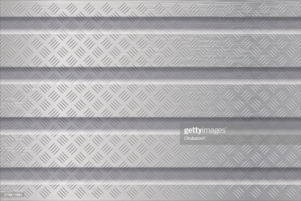 Metal background with non slip surface