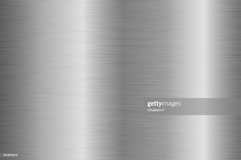 Metal brushed background with scratched surface
