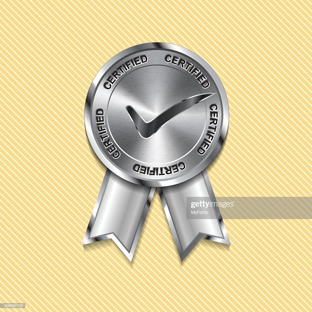 Metal Certified Sign