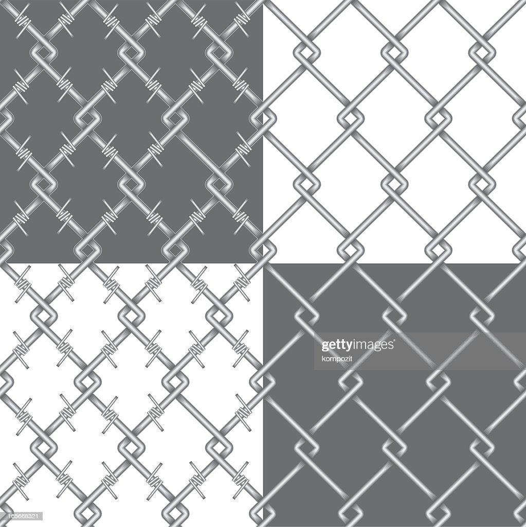 Chain Link Fence Barbed Wire Metal Chainlink Fence And Barbed Wire ...