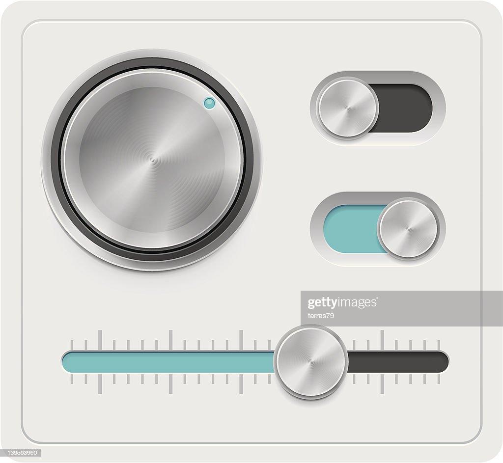Metal dials