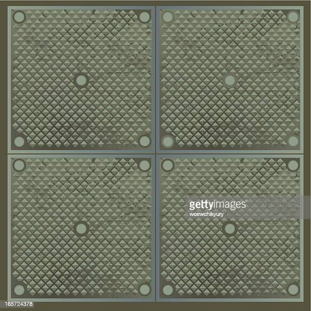 metal  floor - sheet metal stock illustrations, clip art, cartoons, & icons
