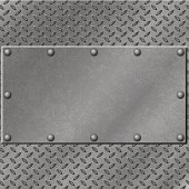Metal grid and textured background