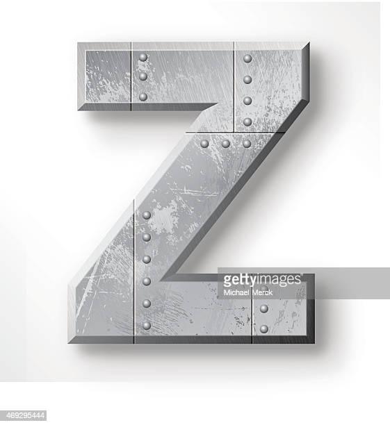 Metal Letter Z