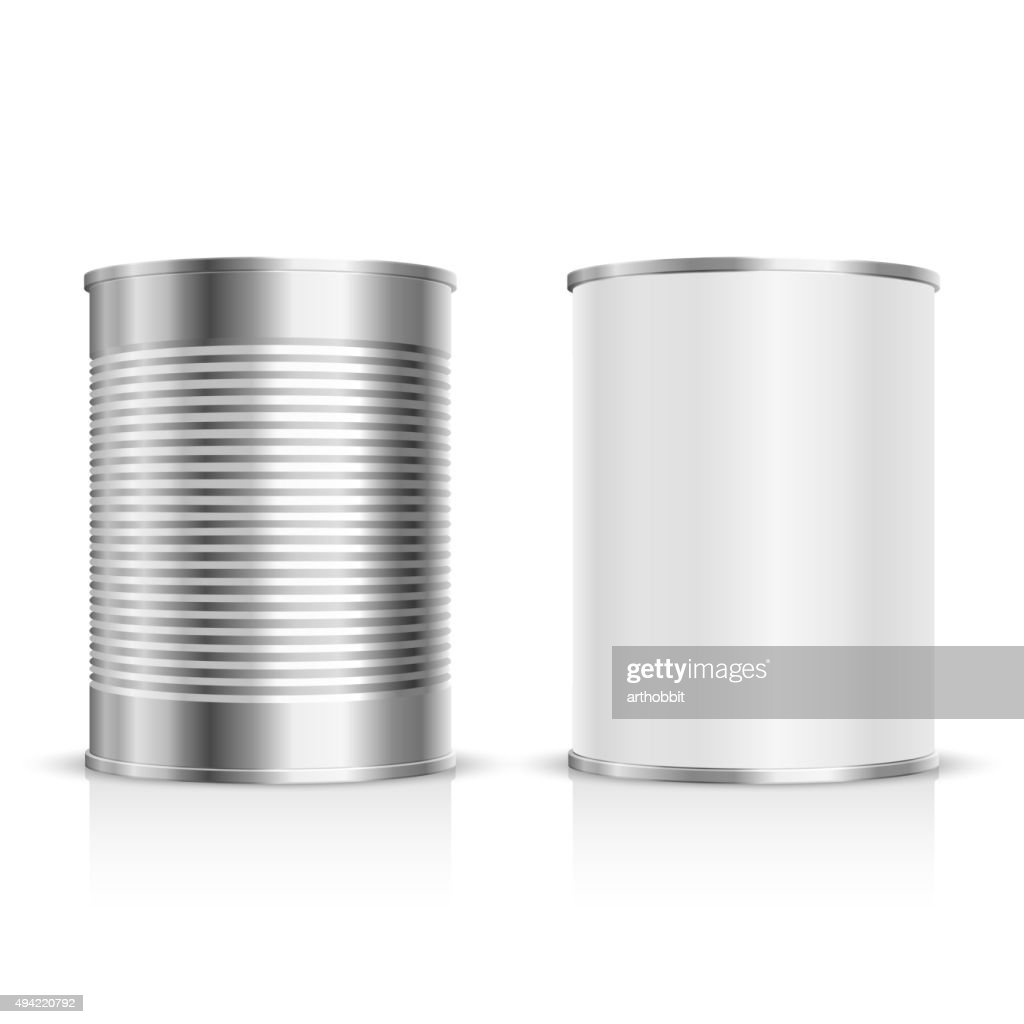 Metal tin set