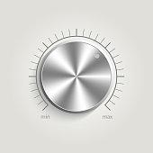 Metal vector volume music control