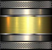 Metallic background shiny