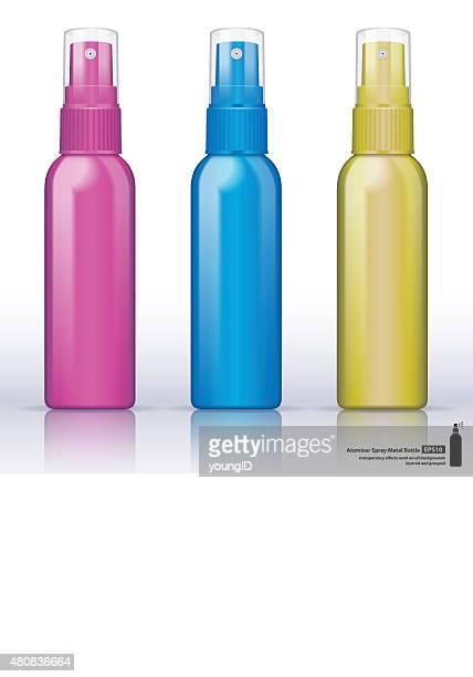 Metallic bottle atomiser