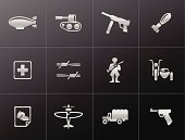 Metallic Icons - World War