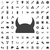 Metallic Knight's Helmet icon