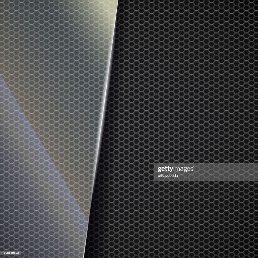 Metallic mesh background