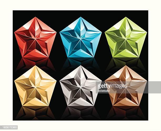 metallic pentagon