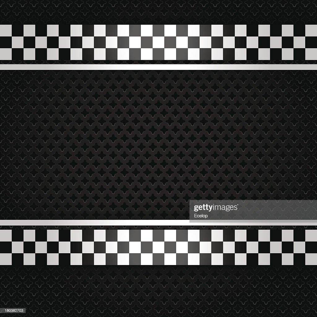 Metallic perforated gray sheet