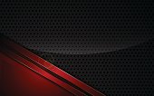 metallic red frame sports design tech innovation concept background template