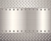 A metallic surface with engraved patterns for friction