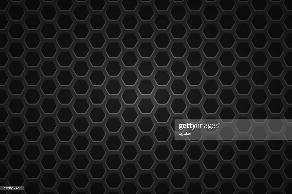 Metallische Textur - Metallgitter Hintergrund : Stock-Illustration