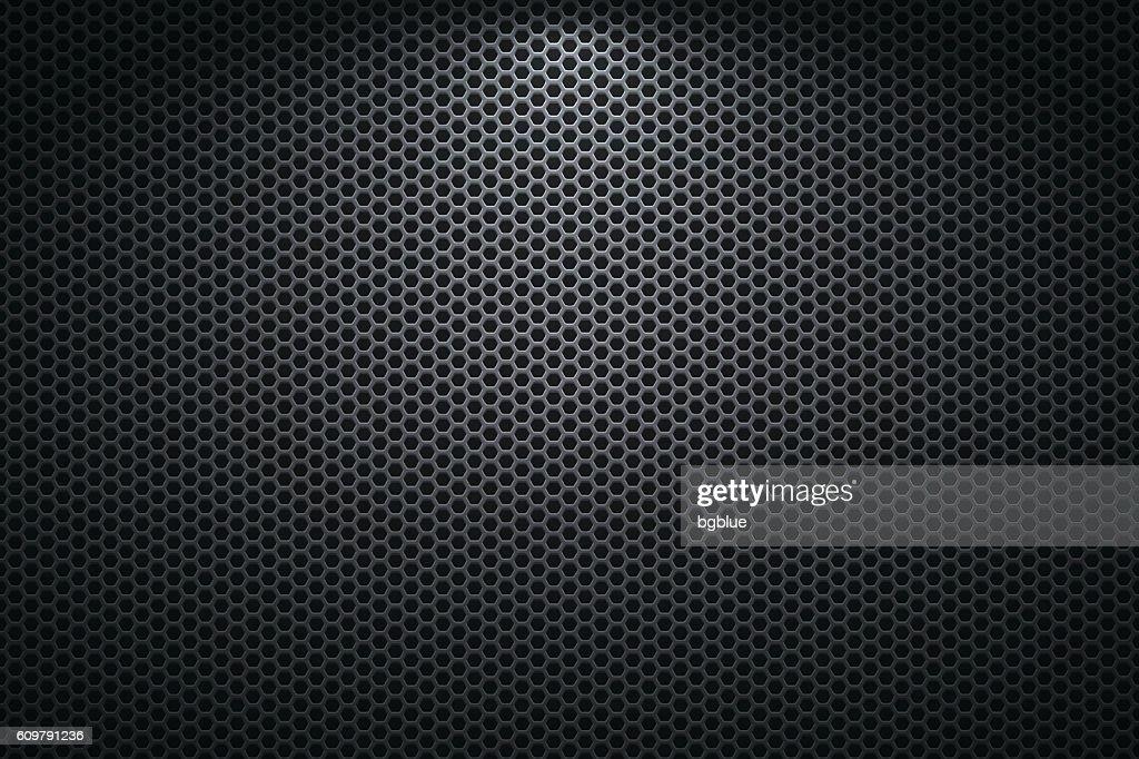 Metallic Texture - Metal Grid on wide Background : Stock-Illustration
