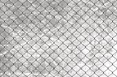 Metallic Wired Fence Pattern