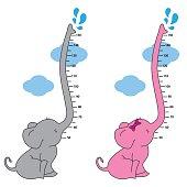meter wall elephant