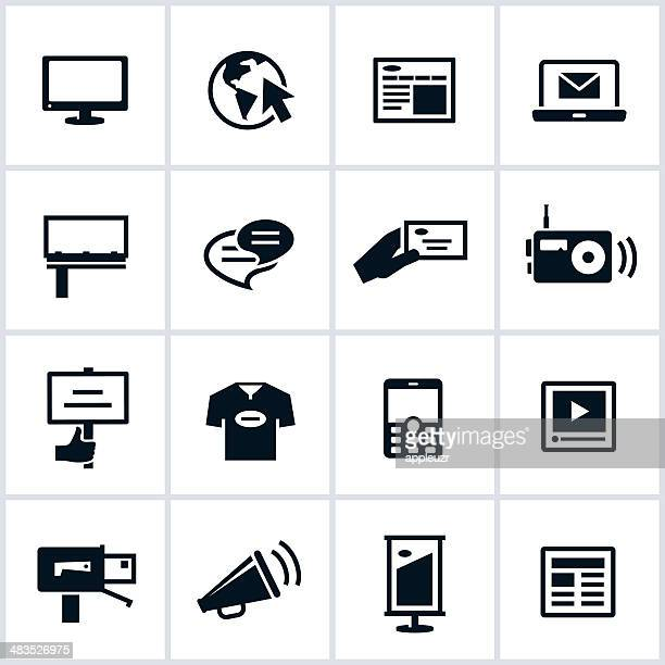 Methods of Advertising Icons