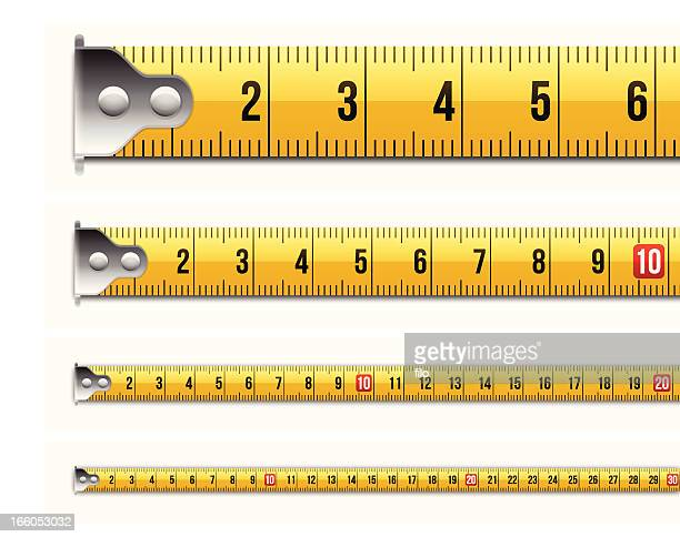 Metric Tape Measure Measurements