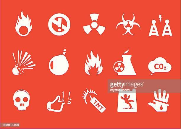 Metro Hazard and Danger Icons