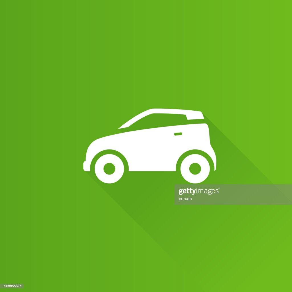 Metro Icon - Green car