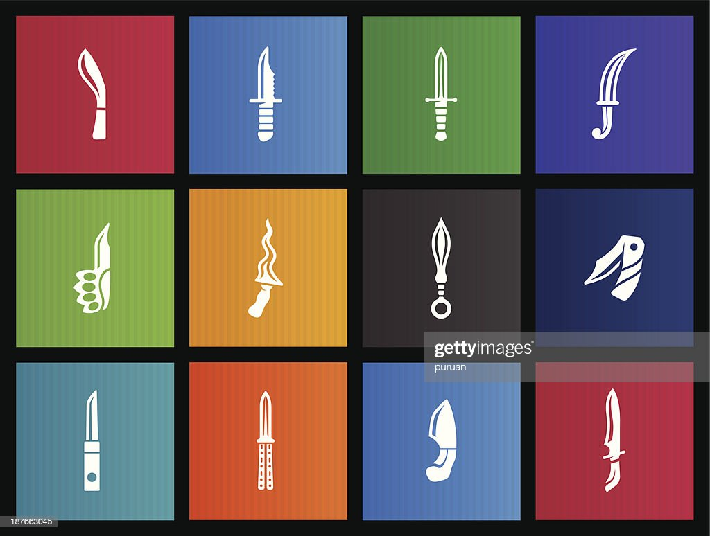 Metro Icons - Knives