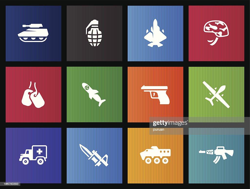 Metro Icons - Military